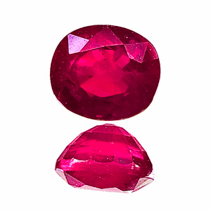 Ruby from Myanmar. 1.13 Carat. deep red