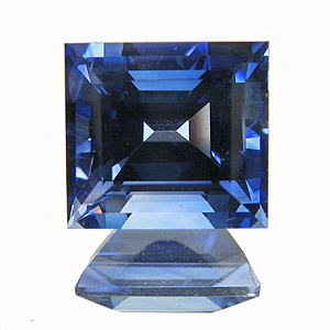 Sapphire. 2.37 Carat. unusually large and vivid baguette