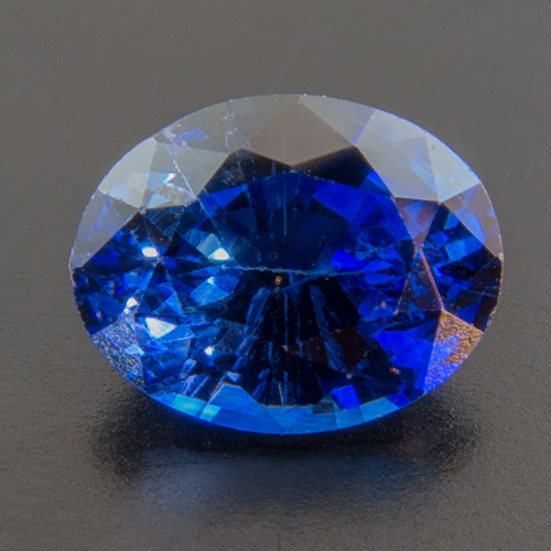 Sapphire from Sri Lanka. 0.97 Carat. Oval, small inclusions