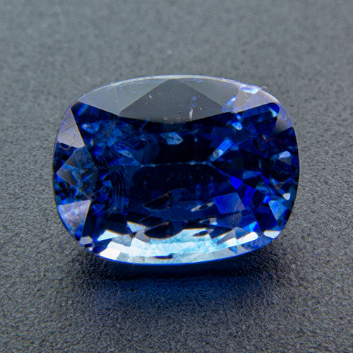 Sapphire from Sri Lanka. 1.56 Carat. Cushion, small inclusions