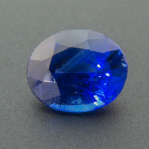 Sapphire from Sri Lanka. 0.77 Carat. Oval, small inclusions