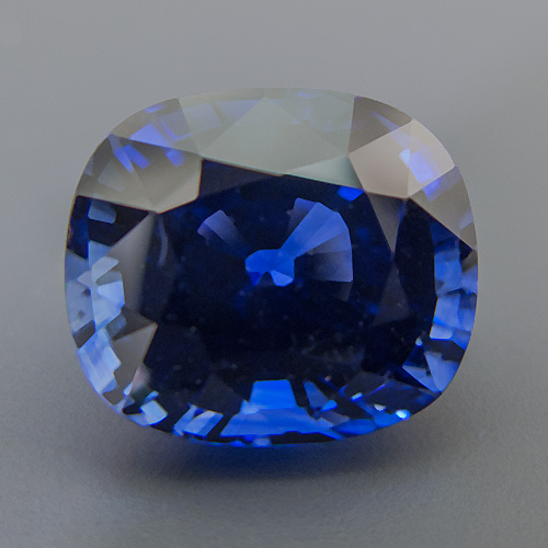 Sapphire from Sri Lanka. 9.27 Carat. absolutely fantastic, royal blue sapphire! comes with a GRS (Gemresearch Swisslab) certificate
