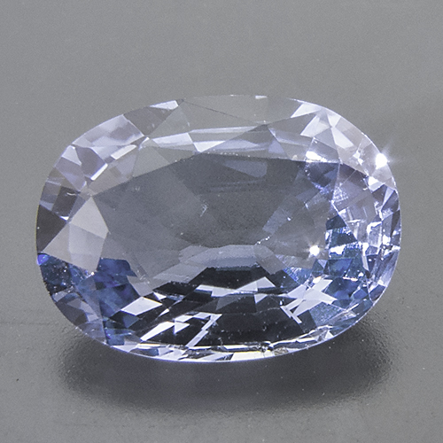 Sapphire. 1 Piece. Cushion, very small inclusions