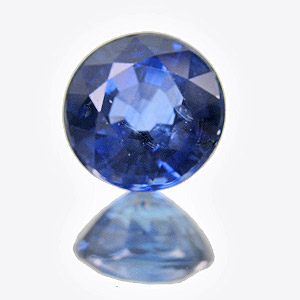 Sapphire. 1.3 Carat. Round, very small inclusions