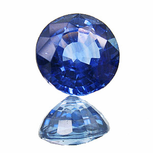 Sapphire from Madagascar. 1.34 Carat. Round, small inclusions