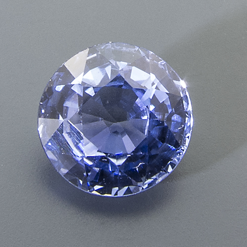 Sapphire. 1.13 Carat. Round, small inclusions