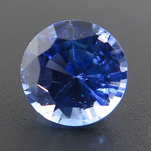 Sapphire from Sri Lanka. 1.1 Carat. Round, very small inclusions
