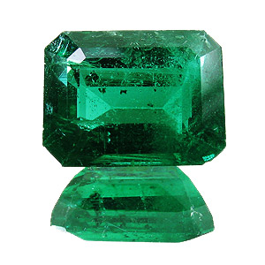 Emerald from Zambia. 3.97 Carat. Emerald Cut, small inclusions