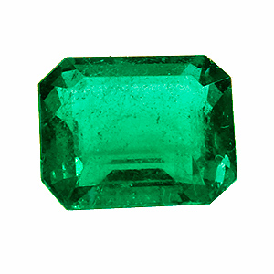 Emerald from Zambia. 1.49 Carat. Emerald Cut, small inclusions