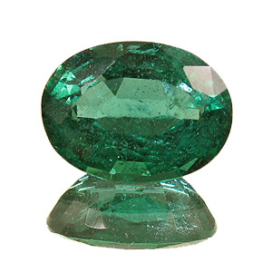 Emerald from Zambia. 1.83 Carat. Oval, small inclusions