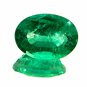 Emerald from Zambia. 1.84 Carat. in reality this gem is much more brilliant and vivid, than on the enlarged photo