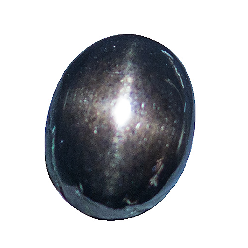 Star Bronzite from India. 2.2 Carat. Cabochon Oval, opaque