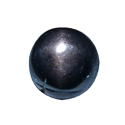 Star Bronzite from India. 2.33 Carat. Cabochon Round, opaque
