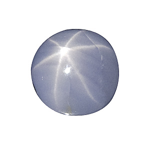 Star Sapphire from Sri Lanka. 1.07 Carat. Cabochon Oval, translucent