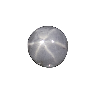 Star Sapphire from Sri Lanka. 1.46 Carat. Cabochon Oval, translucent