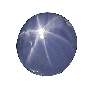Star Sapphire from Sri Lanka. 1.54 Carat. Cabochon Oval, translucent