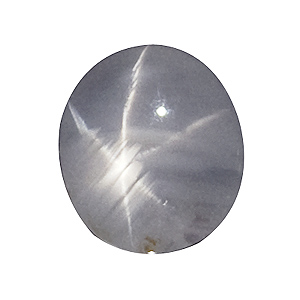 Star Sapphire from Sri Lanka. 1.57 Carat. Cabochon Oval, translucent
