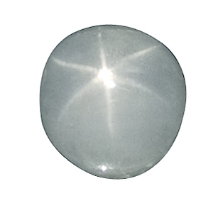 Star Sapphire from Sri Lanka. 1.68 Carat. Cabochon Oval, translucent