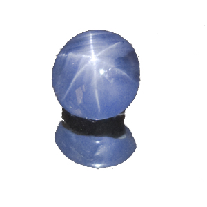 Star Sapphire from Sri Lanka. 2.04 Carat. Cabochon Oval, semi-translucent