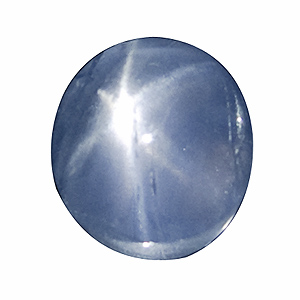 Star Sapphire from Sri Lanka. 2.07 Carat. despite some small cavities this is one of our best. very good star and colour, very high clarity - a beauty!