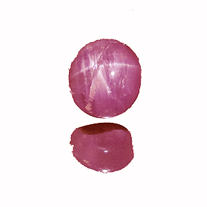 Star Sapphire from Sri Lanka. 2.23 Carat. Cabochon Oval, semi-translucent