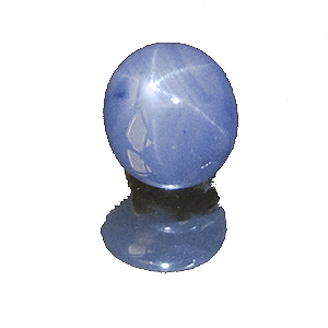 Star Sapphire from Sri Lanka. 2.38 Carat. Cabochon Oval, semi-translucent