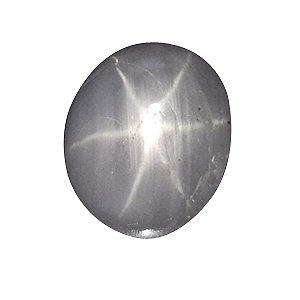 Star Sapphire from Sri Lanka. 2.53 Carat. Cabochon Oval, translucent
