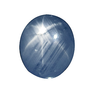 Star Sapphire from Sri Lanka. 3.12 Carat. Cabochon Oval, translucent