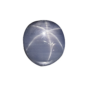 Star Sapphire from Sri Lanka. 4.34 Carat. excellent star