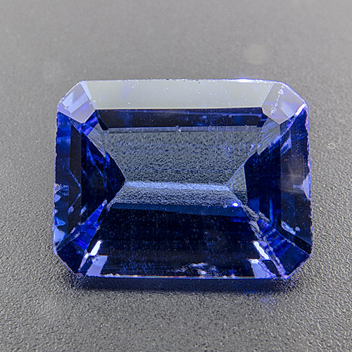 Tanzanite from Tanzania. 1.76 Carat. weightsavingly, slightly shallow cut, looks much heavier (and much more expensive) than it actually is