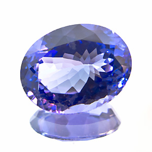 Tanzanite from Tanzania. 2.46 Carat. re-cut in germany
