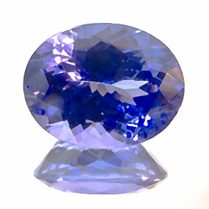 Tanzanite from Tanzania. 2.7 Carat. re-cut in germany