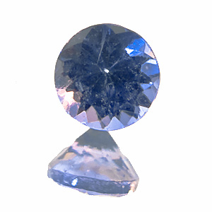 Tanzanite from Tanzania. 1 Piece. Round, very very small inclusions