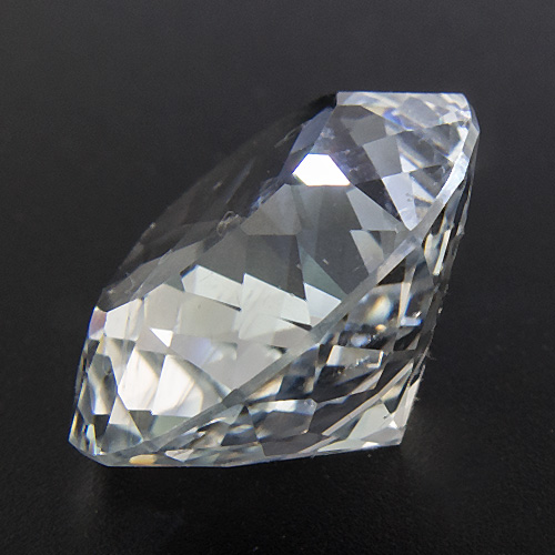 "Topaz from Namibia. 7.53 Carat. beautiful ""silver topaz"", as topaz from the little spitzkoppe is often called"
