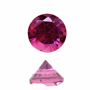 Tourmaline (Rubellite) from Brazil. 1 Piece. top colour, vivid