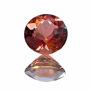 Tourmaline (Rubellite) from Brazil. 2.51 Carat. Round, very small inclusions