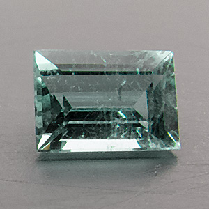 Tourmaline (Indigolite) from Namibia. 0.34 Carat. from the brandberg mountain, well-known source of fine tourmalines