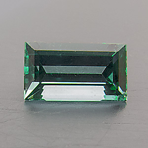 Tourmaline (Indigolite) from Namibia. 0.35 Carat. from the brandberg mountain, well-known source of fine tourmalines