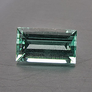 Tourmaline (Indigolite) from Namibia. 0.43 Carat. from the brandberg mountain, well-known source of fine tourmalines