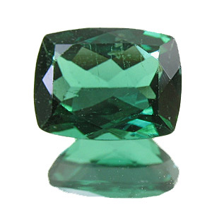 Tourmaline (Indigolite) from Brazil. 1.93 Carat. Cushion, very small inclusions