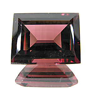 Tourmaline (Rubellite) from Nigeria. 7.5 Carat. Baguette, very very small inclusions