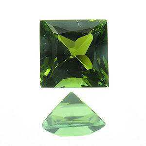 Tourmaline (Verdelite). 1 Piece. deep green