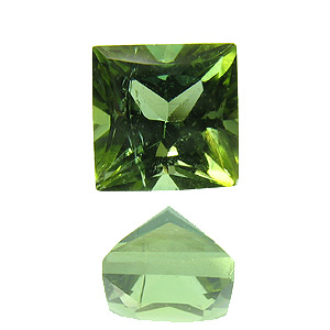 Tourmaline (Verdelite). 1 Piece. light green