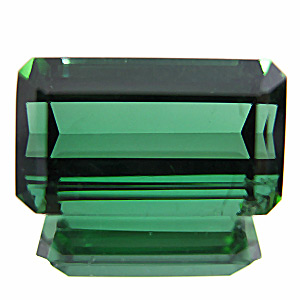 Tourmaline (Verdelite) from Pakistan. 11.64 Carat. Emerald Cut, very small inclusions