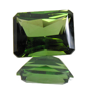 Tourmaline (Verdelite) from Congo. 2.56 Carat. Emerald Cut, very small inclusions