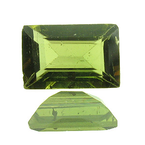 Tourmaline (Verdelite) from Brazil. 1 Piece. Baguette, small inclusions