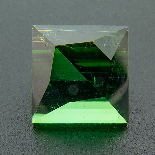 Tourmaline (Verdelite) from Congo. 2.33 Carat. Innovative cut