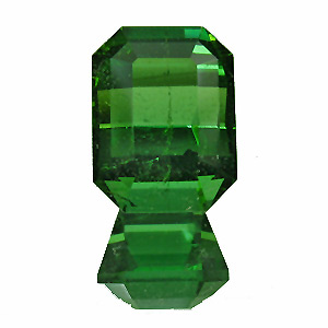 Tourmaline (Verdelite) from Congo. 1.74 Carat. Emerald Cut, small inclusions
