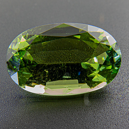 Tourmaline (Verdelite) from Congo. 6.79 Carat. Oval, small inclusions