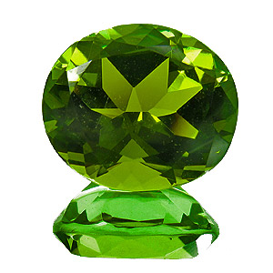 Tourmaline (Verdelite) from Nigeria. 4.51 Carat. very lively, vibrant green